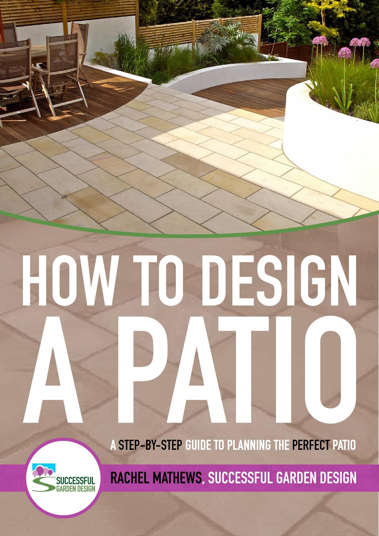 review how to design a patio course